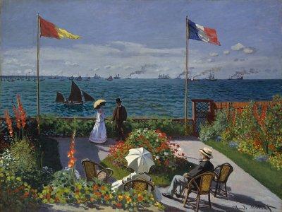 1280px Claude Monet Jardin a Sainte Adresse
