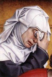 Rogier van der Weyden Deposition detail WGA25578